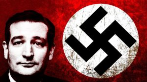 Tad Cruz, da real Tea Party Nazi.
